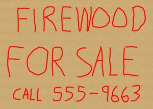 How to Sell Firewood