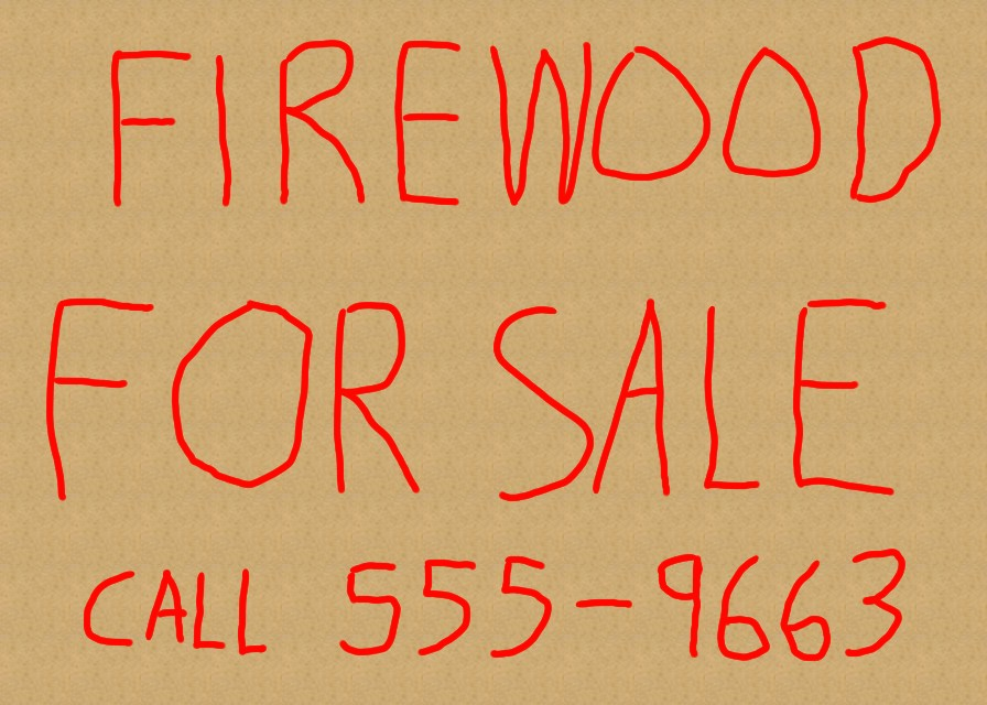 to Sell Firewood